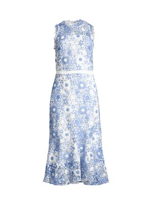 Anamaria Lace Embroidered Dress