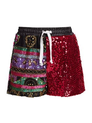 Variety Show Sequin Shorts