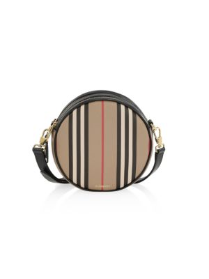Louise Icon Stripe E-Canvas Crossbody Bag