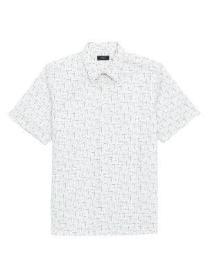 Irving Waverly-Print Short-Sleeve Shirt