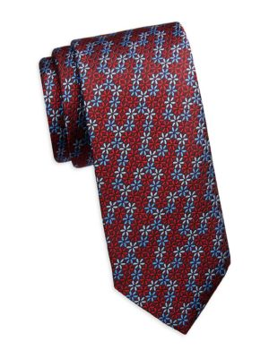 COLLECTION Multi-Floral Jacquard Silk Tie