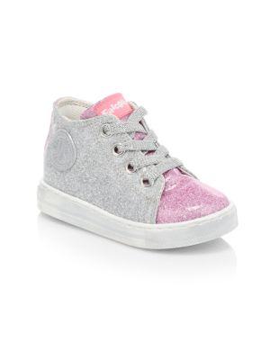 Baby's & Little Girl's Falcotton Magic Glitter Sneakers