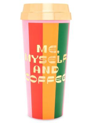 Me, Myself And Coffee Hot Stuff Thermal Mug