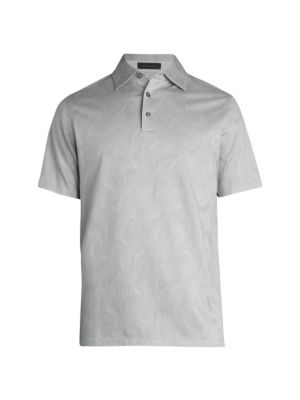COLLECTION Short-Sleeve Vines Polo