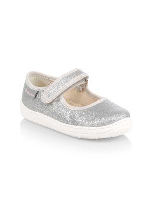Baby's, Little Girl's & Girl's Elvida Glitter Ballet Flats