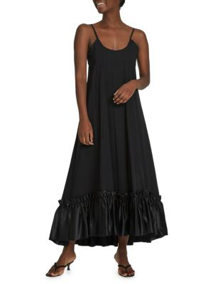 Stirs The Heart Ruffled Maxi Dress