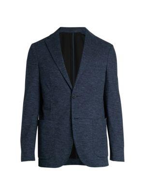 Melange Knit Sportcoat