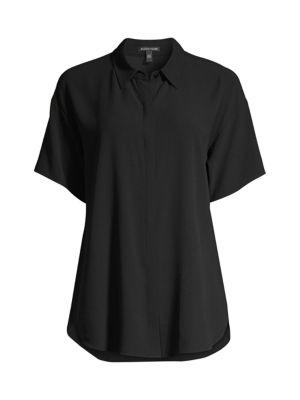 Silk Short-Sleeve Shirt