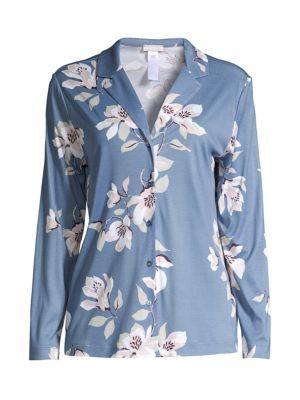 Lisha Floral Pajama Top