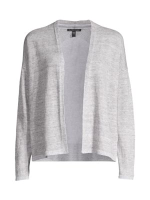 Slouchy Open-Front Cardigan