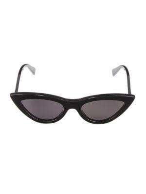 56MM Exaggerated Cat Eye Sunglasses