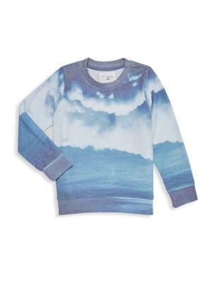 Little Girl's & Girl's Ocean Billows Sweatshirt