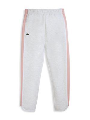Little Girl's & Girl's Side-Stripe Fleece Track Pants