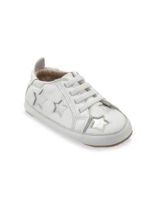 Baby's & Little Girl's Starry Bambini Leather Sneakers