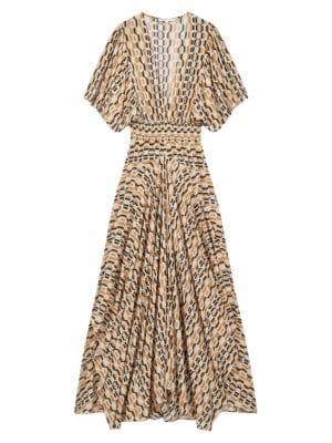 Rachelli Printed Maxi Dress