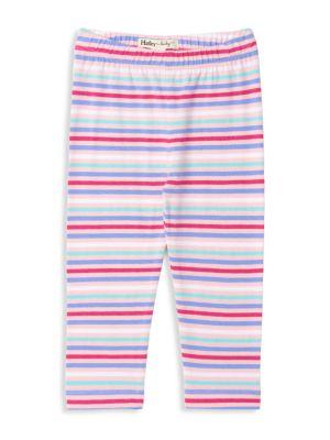 Baby Girl's Candy Stripe Leggings