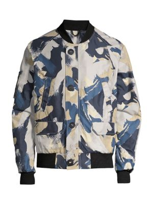 Faber Camo Bomber Jacket