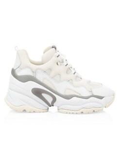 아쉬 청키 웻지 스니커즈 ASH Bang Chunky Wedge Sneakers,White