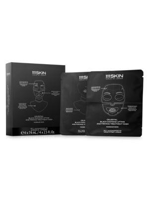 Celestial Black Diamond 4-Piece Lifting & Firming Treatment Mask Set