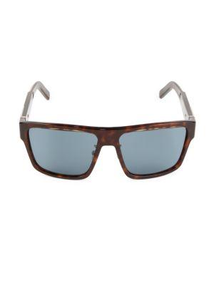 62MM Fashion Mask Plastic Sunglasses