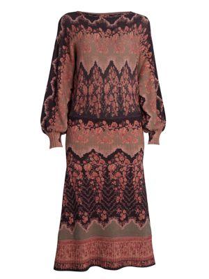 Sorraia Wool & Cashmere Knit Midi Dress