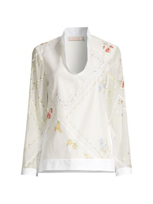Handkerchief Embroidered Tunic