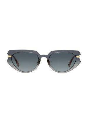 DiorAttitude2 53MM Cat Eye Sunglasses
