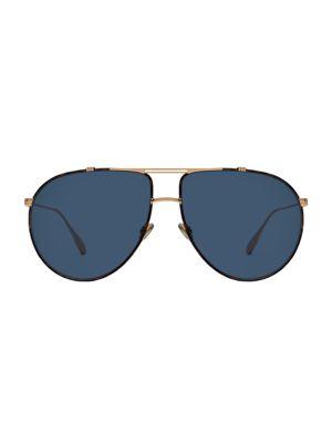 DiorMonsieur1 63MM Aviator Sunglasses
