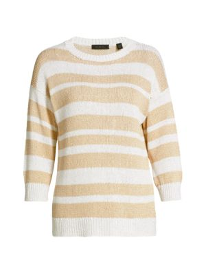 COLLECTION Striped Pullover Sweater