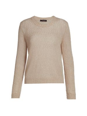 Open Wave Knit Sweater