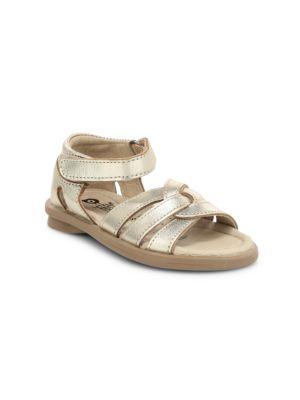 Baby's, Little Girl's & Girl's Clarise Metallic Sandals