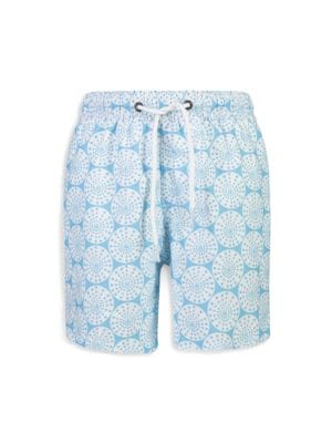 Little Boy's & Boy's Oceania Sustainable Swim Board Shorts