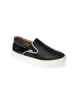 Little Girl's & Girl's Skyler Slip-On Leather Sneakers