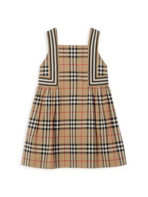 Girl's Astrid Iconic-Print Dress