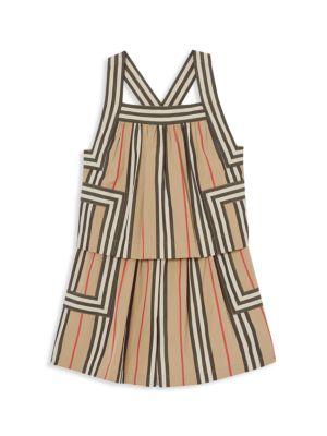 Little Girl's & Girl's KG4 Florence Tiered Shift Dress