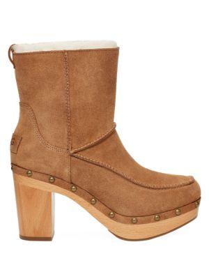 Kouri Shealing-Lined Suede Boots