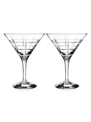 Street 2-Piece Martini Glass Set