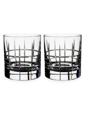 Street 2-Piece Whiskey Glass Set