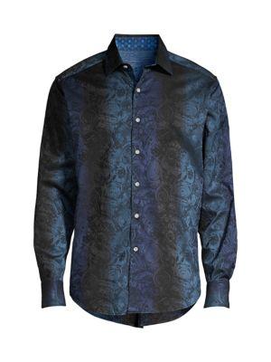 Waynes Tailored-Fit Print Shirt