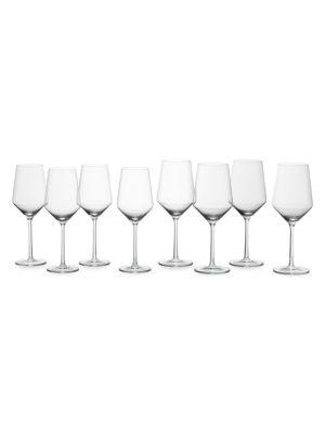 Pure 8-Piece Sauvignon Blanc & Cabernet Glass Set