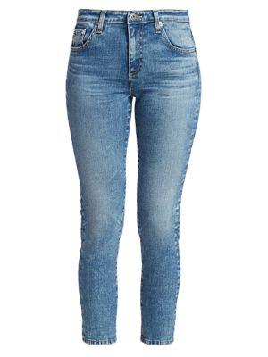 Prima Mid-Rise Crop Cigarette Jeans