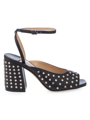 Jassidy Embellished Leather Sandals