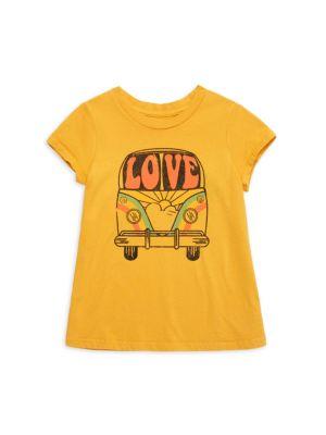 Little Girl's & Girl's Love Bus T-Shirt