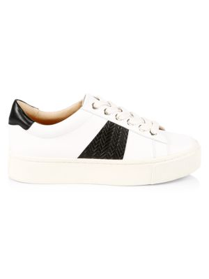Halina Leather Sneakers