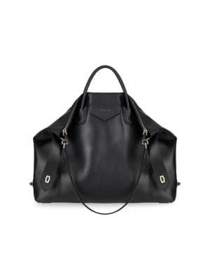 Large Antigona Soft Leather Tote