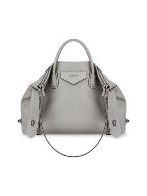 Medium Antigona Soft Leather Satchel