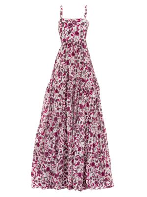 Zafia Floral Maxi Dress