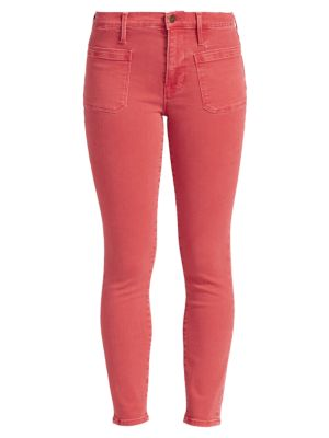 Le Bardot High-Rise Ankle Skinny Jeans