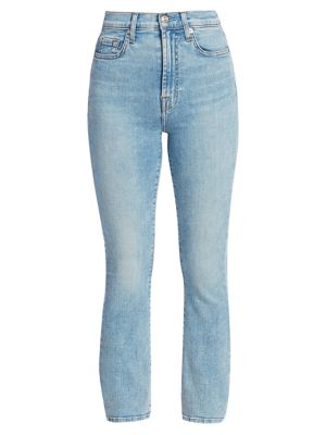 Melrose High-Rise Cropped Slim Jeans