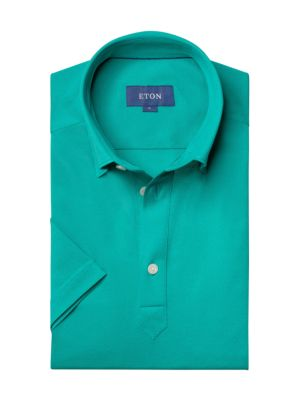 Contemporary-Fit Short-Sleeve Pique Polo